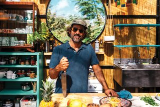 Living in Puerto Rico and traveling worldwide as a private chef, Dario Tani makes arepas when he's feeling homesick for Venezuela.