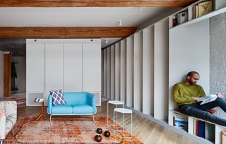 Sited in Brooklyn's Williamsburg neighborhood, Publisher's Loft has been remodeled by Büro Koray Duman for a book publisher and furniture dealer couple, who share 2,500 books.