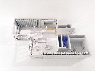 A model of Publisher's Loft.