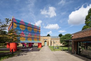 Adding to the architectural style of Soane's iconic Dulwich Picture Gallery, The Colour Palace beautifully fuses both European and African traditions—resulting in one captivating celebration.