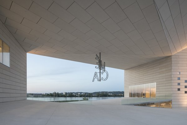 Bjarke Ingels calls the hollow space at the center of the building an