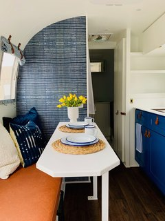 Before & After: A 1966 Airstream Gets Road-Ready For a Single Mom and Her Son