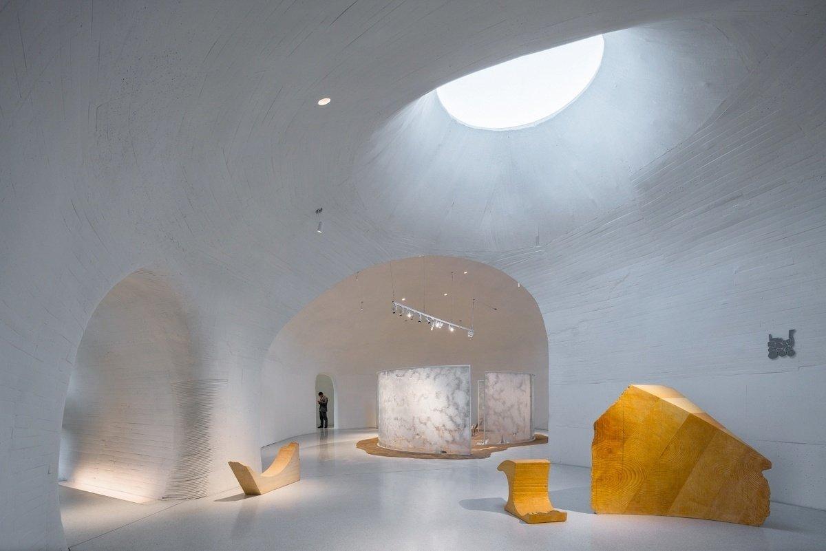 UCCA Dune Art Museum interior