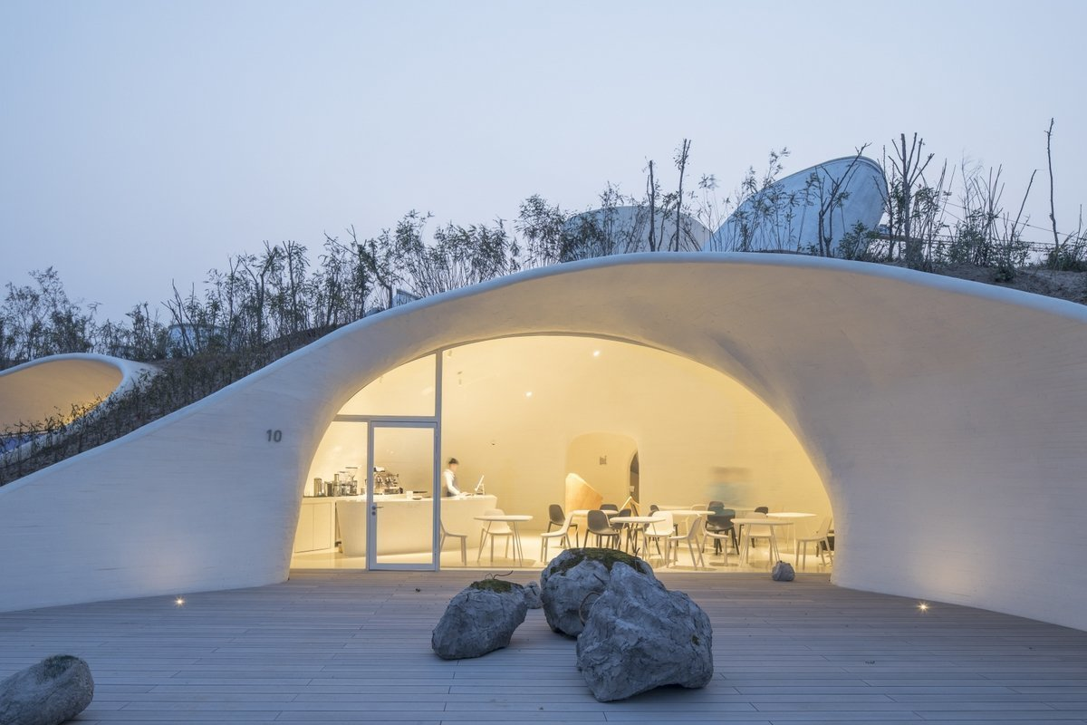 This Otherworldly Museum in China Is Buried Beneath the Earth
