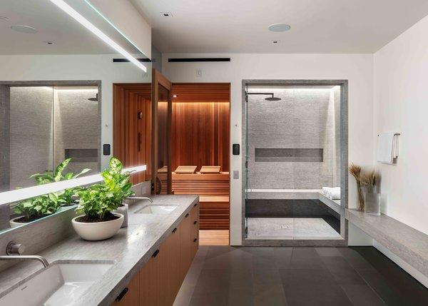 Best 60 Modern Bathroom Corner Showers Design Photos And