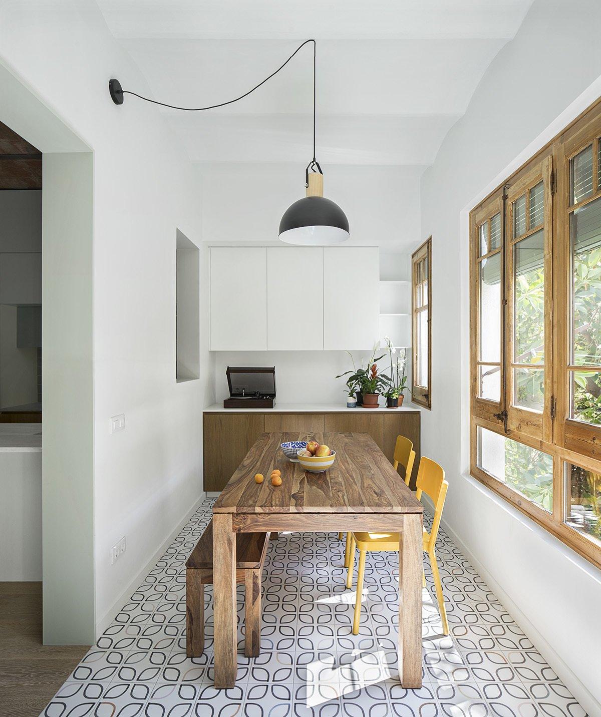 CALDRAP Apartment dining room