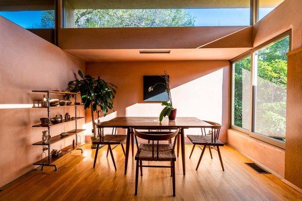 Best 60+ Modern Dining Room Medium Hardwood Floors Design ...