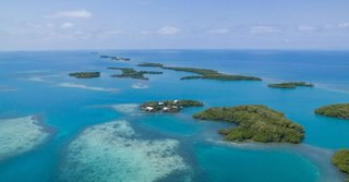 Stann Creek Island is part of an atoll near the Belize Barrier Reef, and it appears to be the only isle in the area with any development.