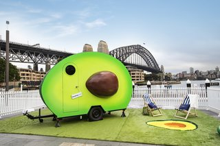 Here's Your Once-in-a-Lifetime Chance to Sleep Inside a Giant Avocado