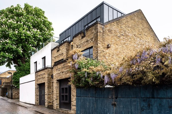 A Surprising London Townhouse Filled With Intriguing Geometry Asks $2.4M