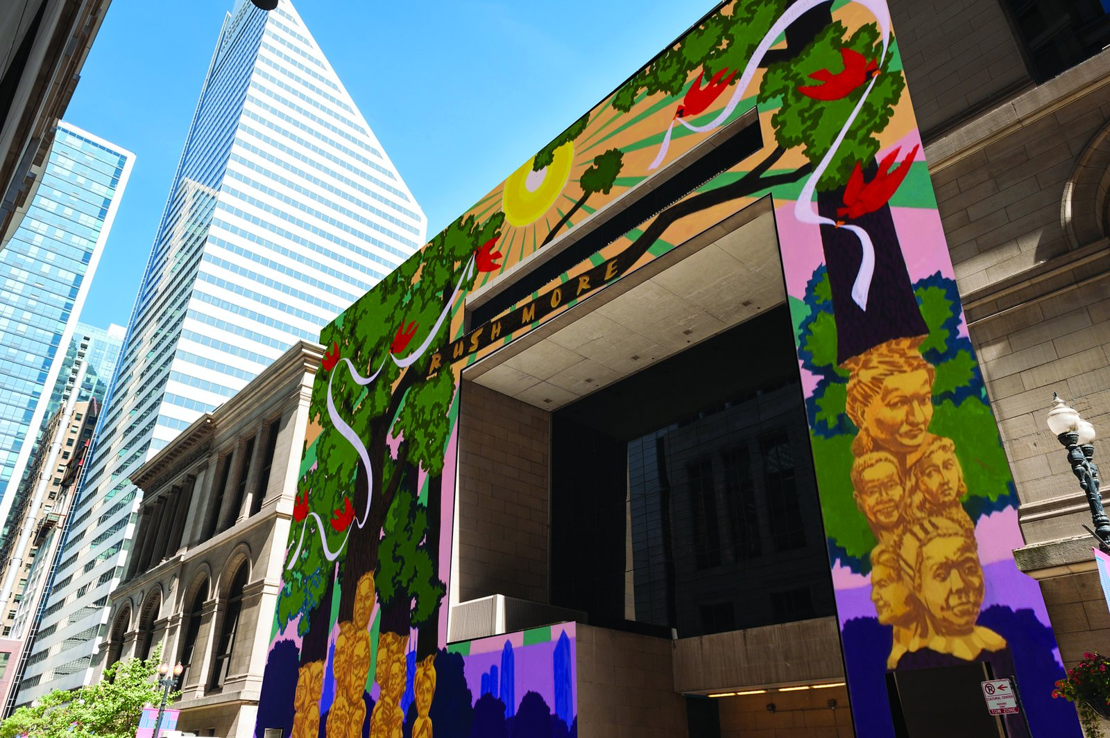 Kerry James Marshall mural  Photo 7 of 7 in Top Design Cities 2019: Chicago