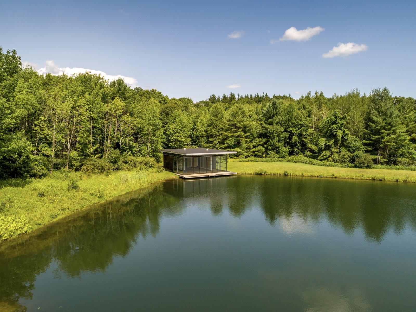 Y House boathouse