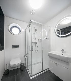 Best 60 Modern Bathroom Subway Tile Walls Design Photos And Ideas Dwell