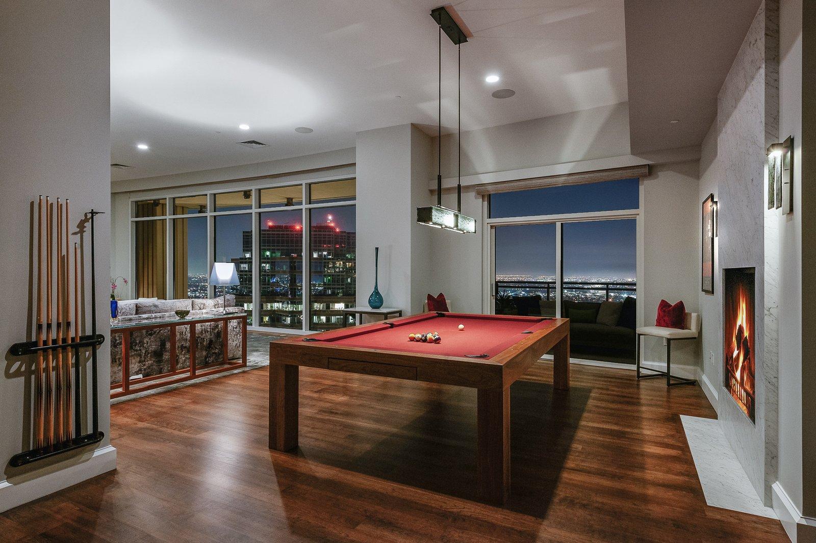 Century City penthouse Scott Joyce LM Pagano living room