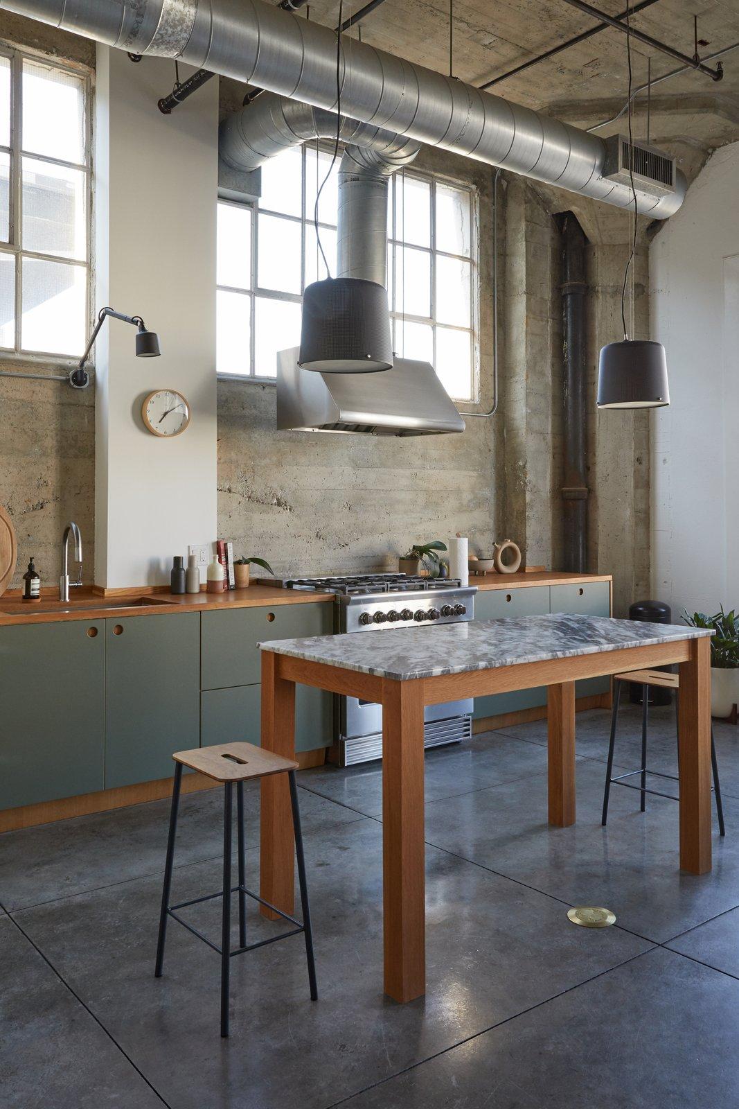 Walker Building Loft kitchen