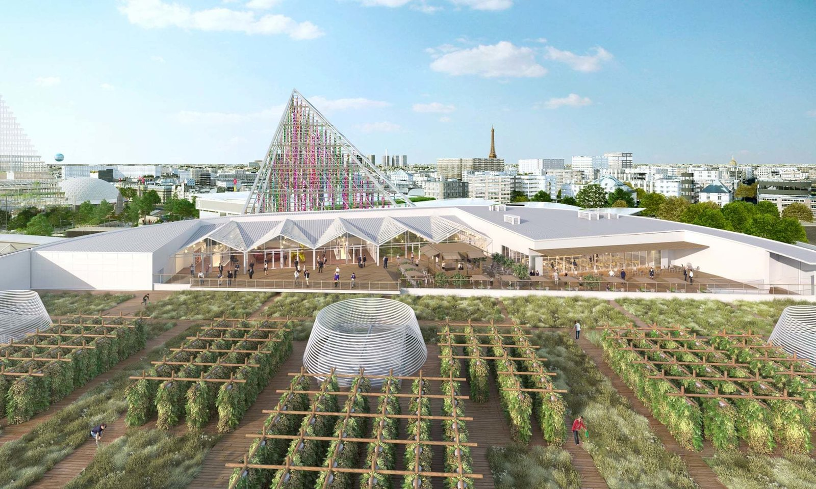 The World's Largest Urban Farm Is Opening Next Year in Paris
