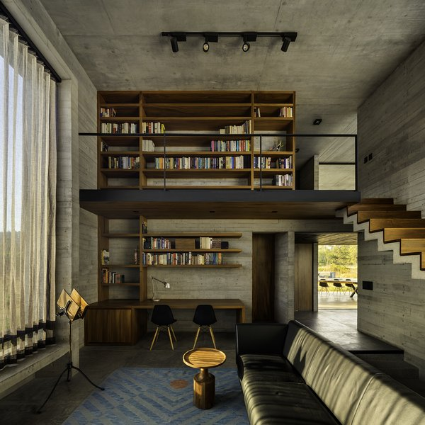 In search of a quiet getaway that could double as a vacation and holiday hub for extended family and friends, a Mexico City couple found a three-and-a-half-acre property there and reached out to architect Javier Sánchez to come up with a design that would make the most of the site.