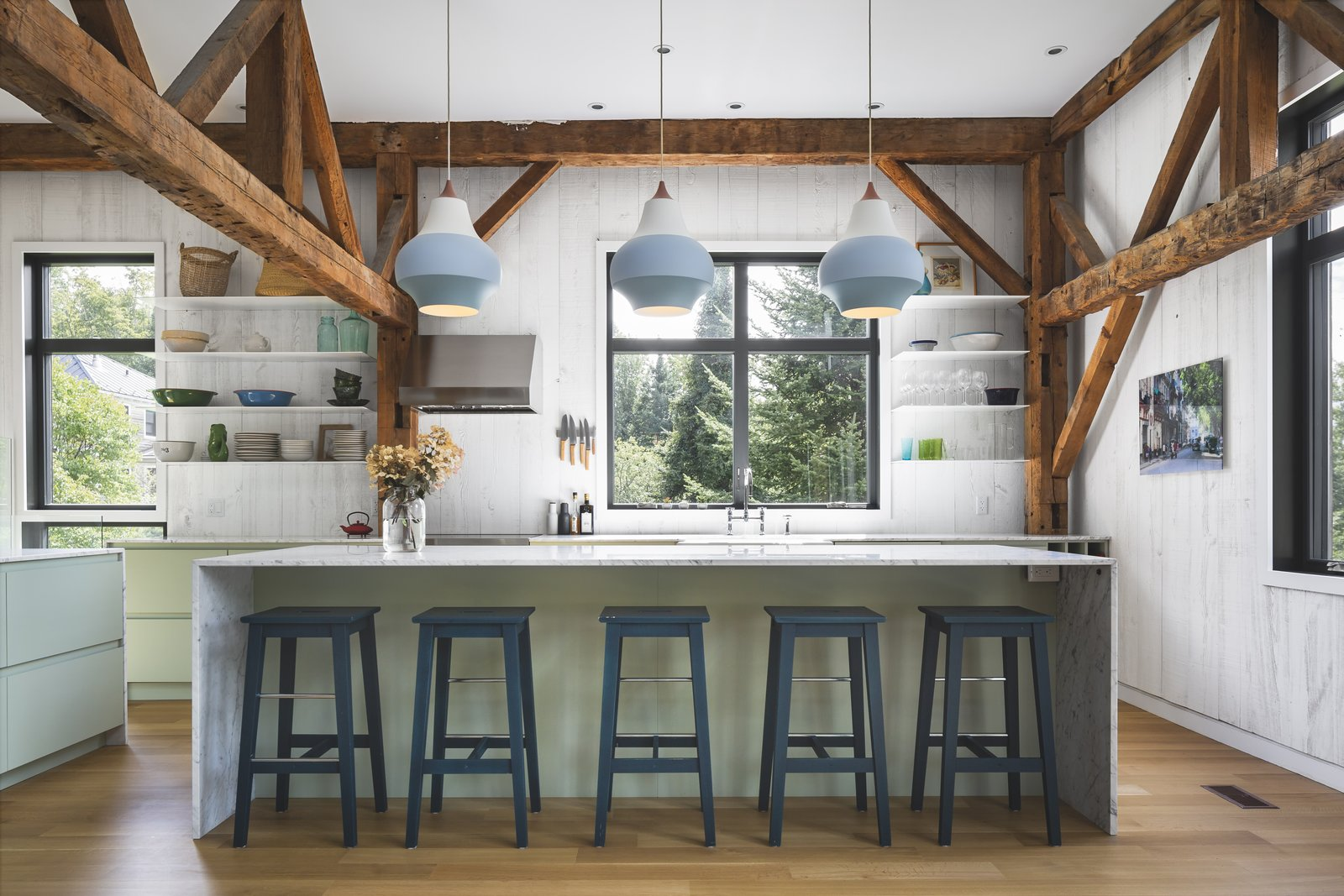Kitchen of The Barn by La Firme