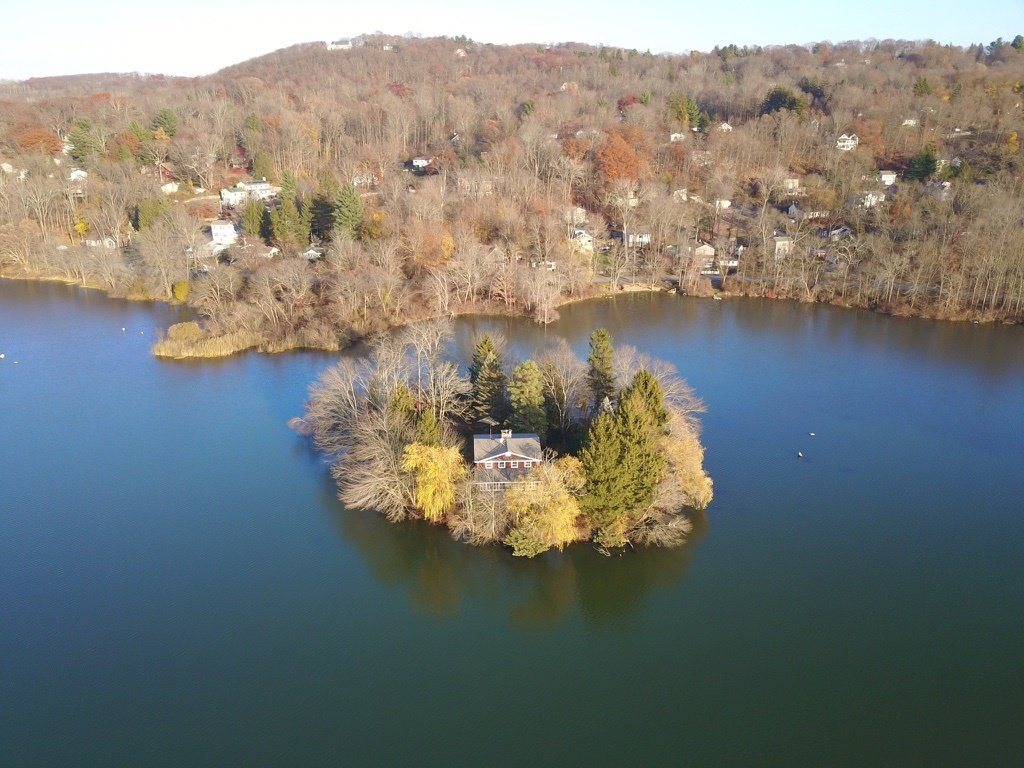 Willow House Putnam New York  aerial