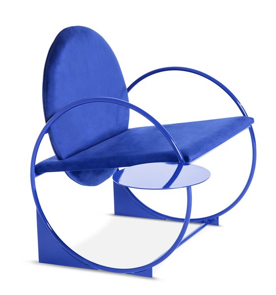 The Bullarengue Lounge Chair by Ángel Mombiedro.