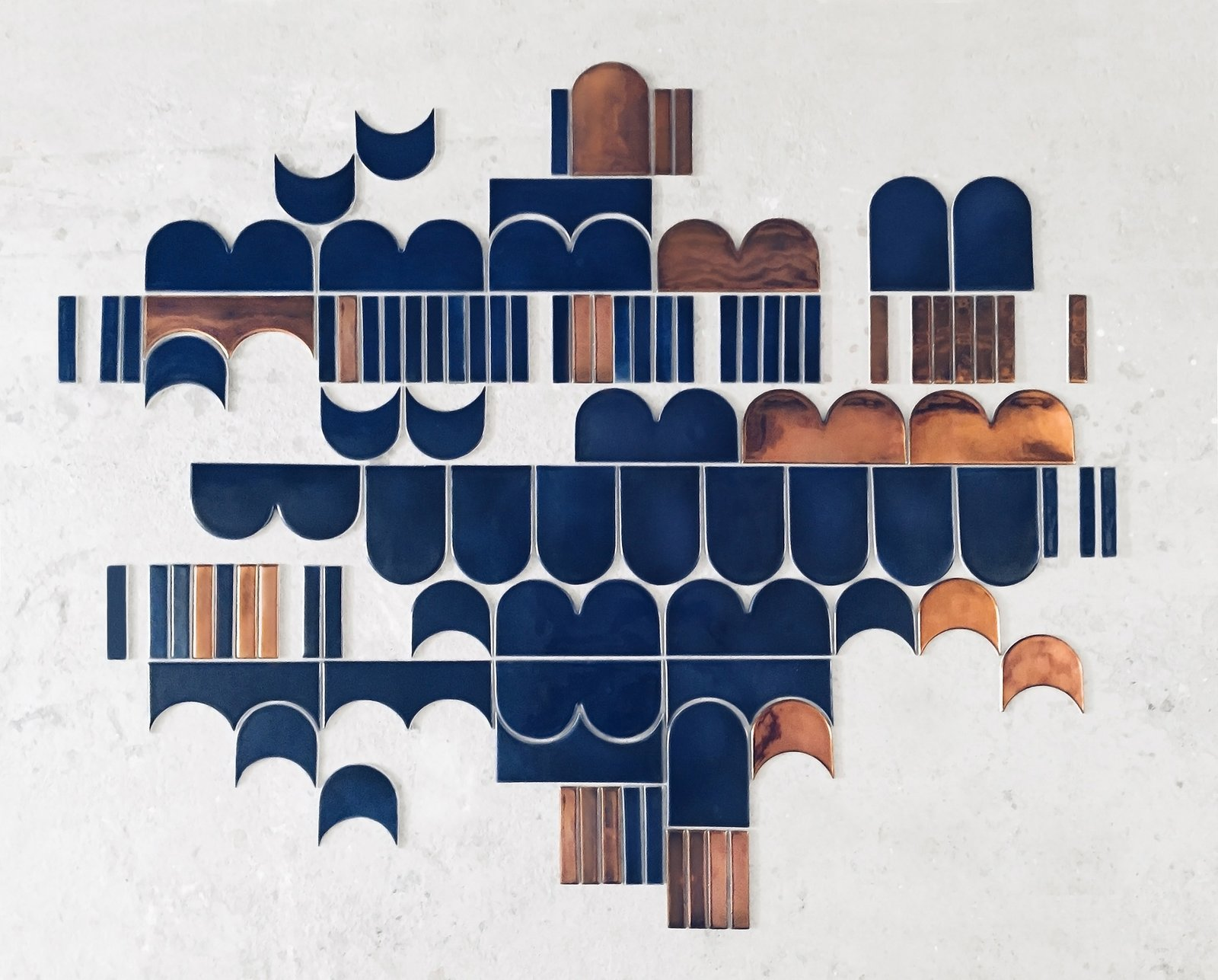 Itkonen's Marquis ceramic mural <span style=