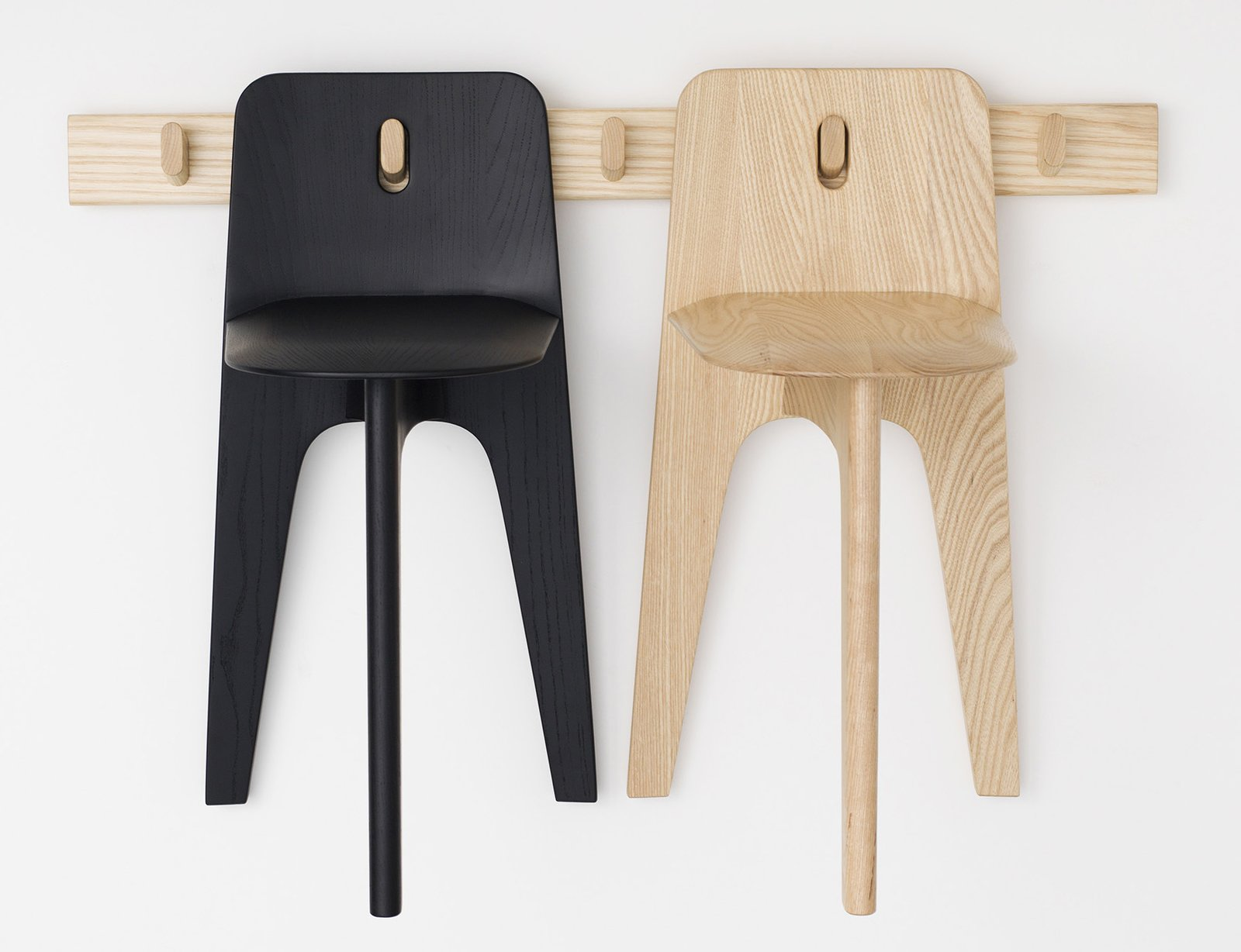 The Stove Chair for Bla Station by Gabriel Tan Studio.