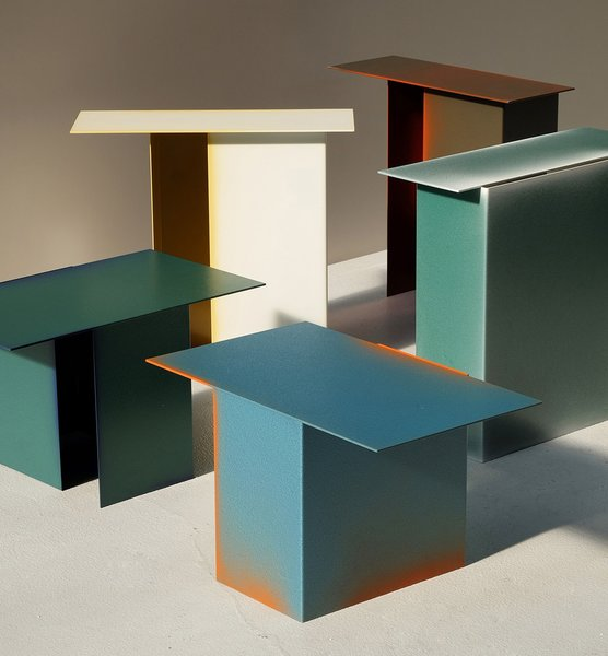 The Truly Truly Daze side tables.