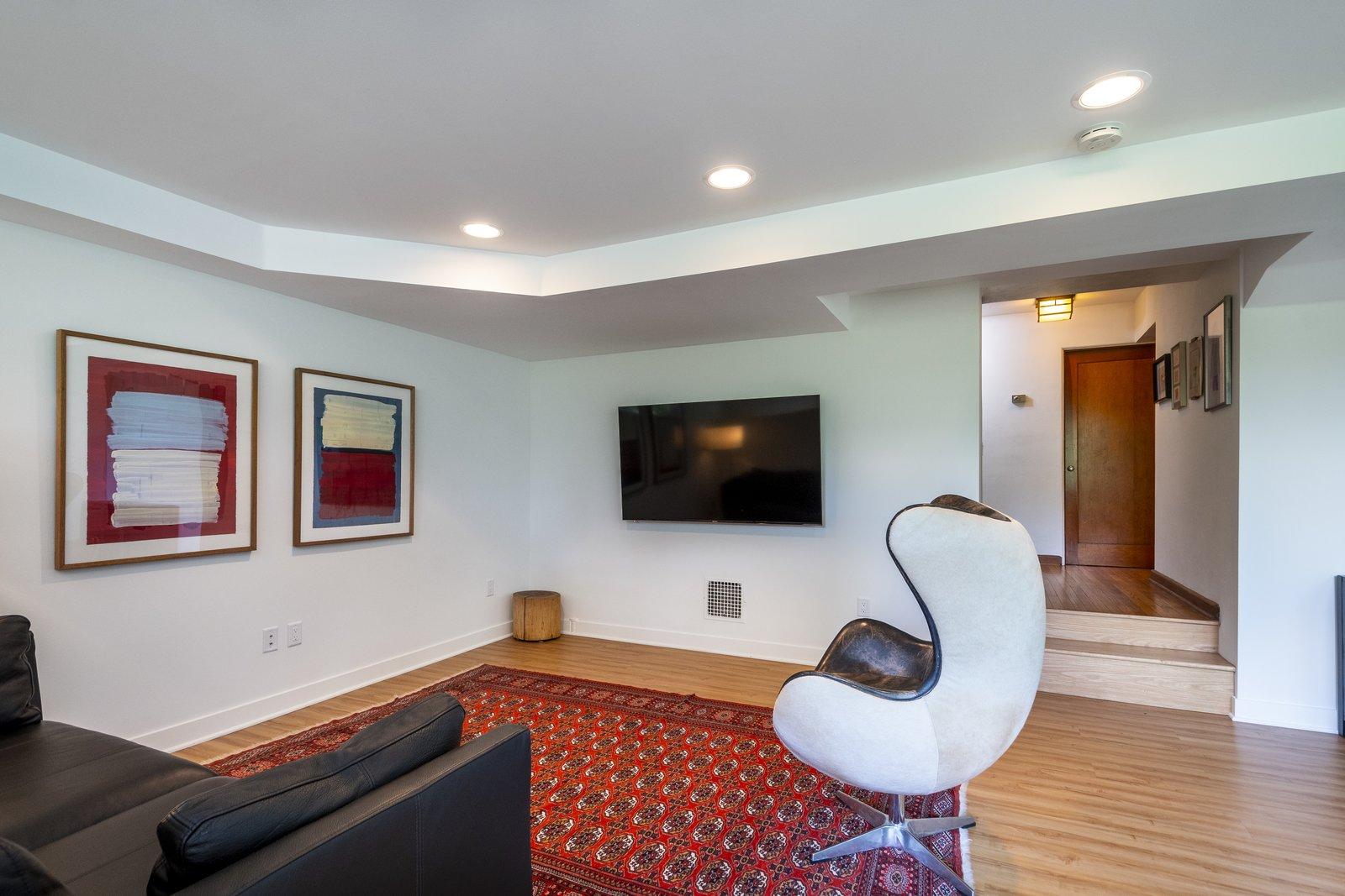 Porter Butts House William Kaeser living room