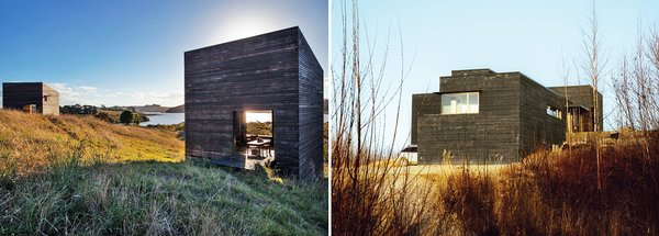 Who Wore it Best? Two Remote Cabins Are Clad in Shou Sugi Ban