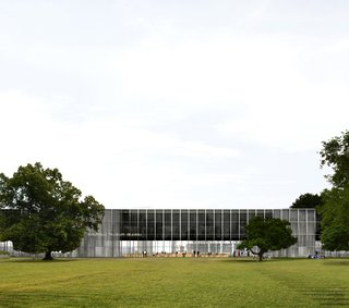 The Bauhaus Museum Dessau is centrally located in the German city, and it will showcase thousands of works from the design school.