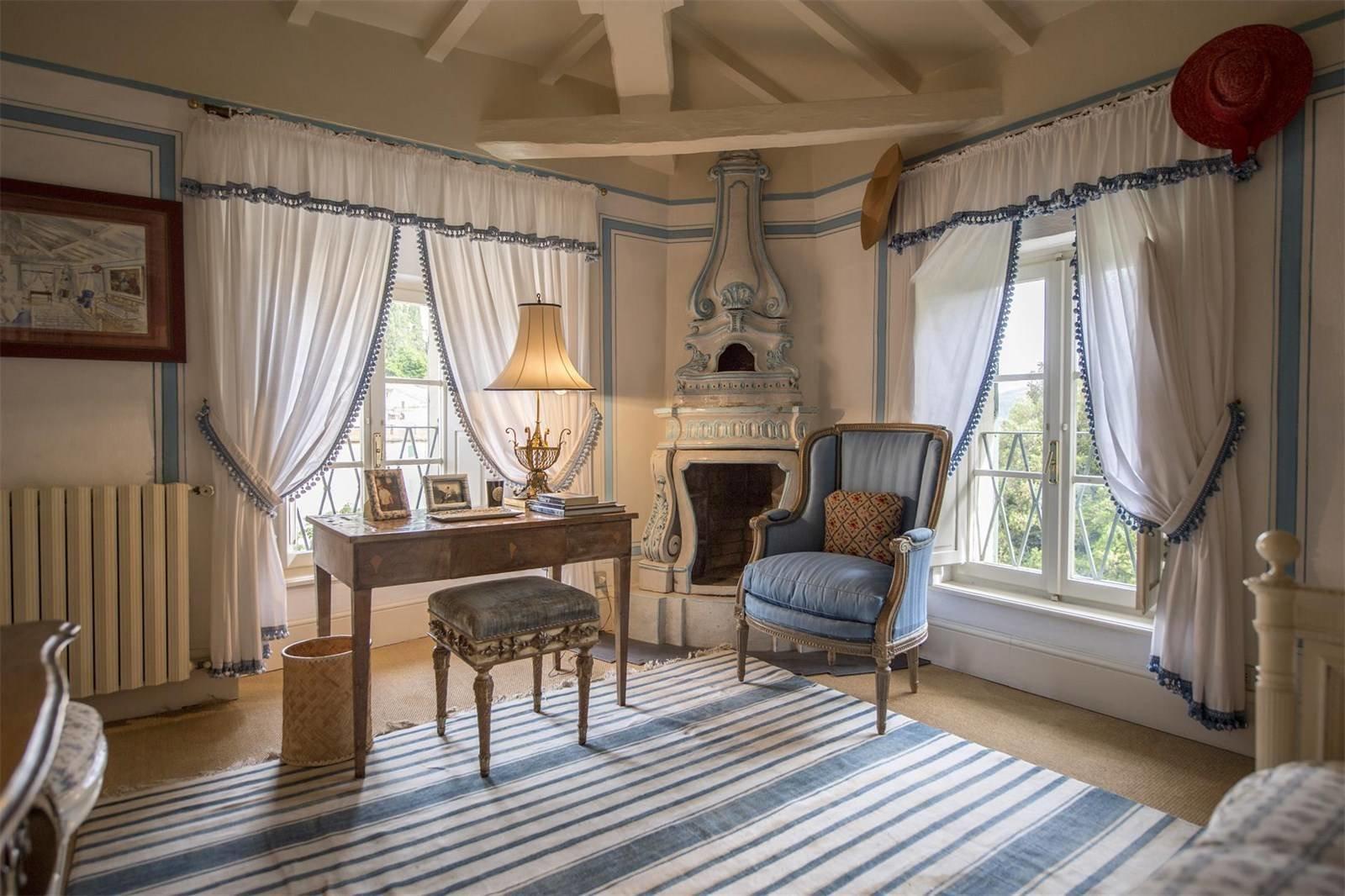Villa La Vagnola Renzo Mongiardino bedroom