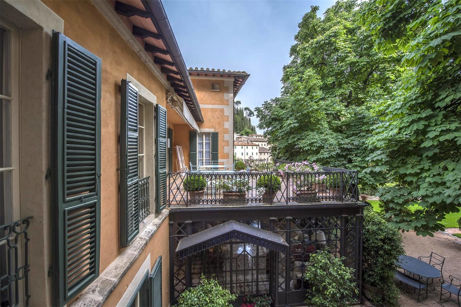 Villa La Vagnola Renzo Mongiardino outdoor