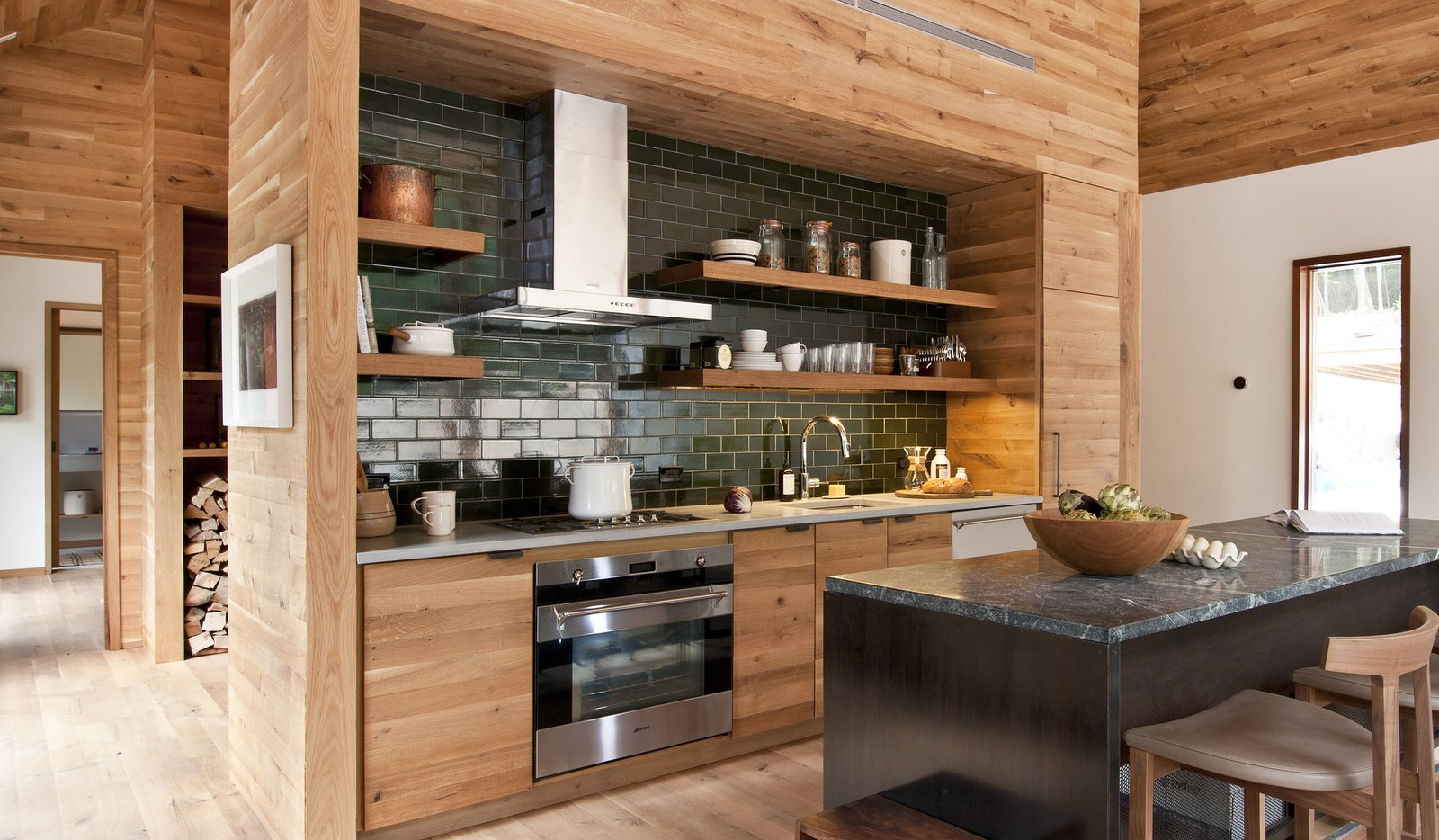 Hudson Woods Lang Architecture kitchen
