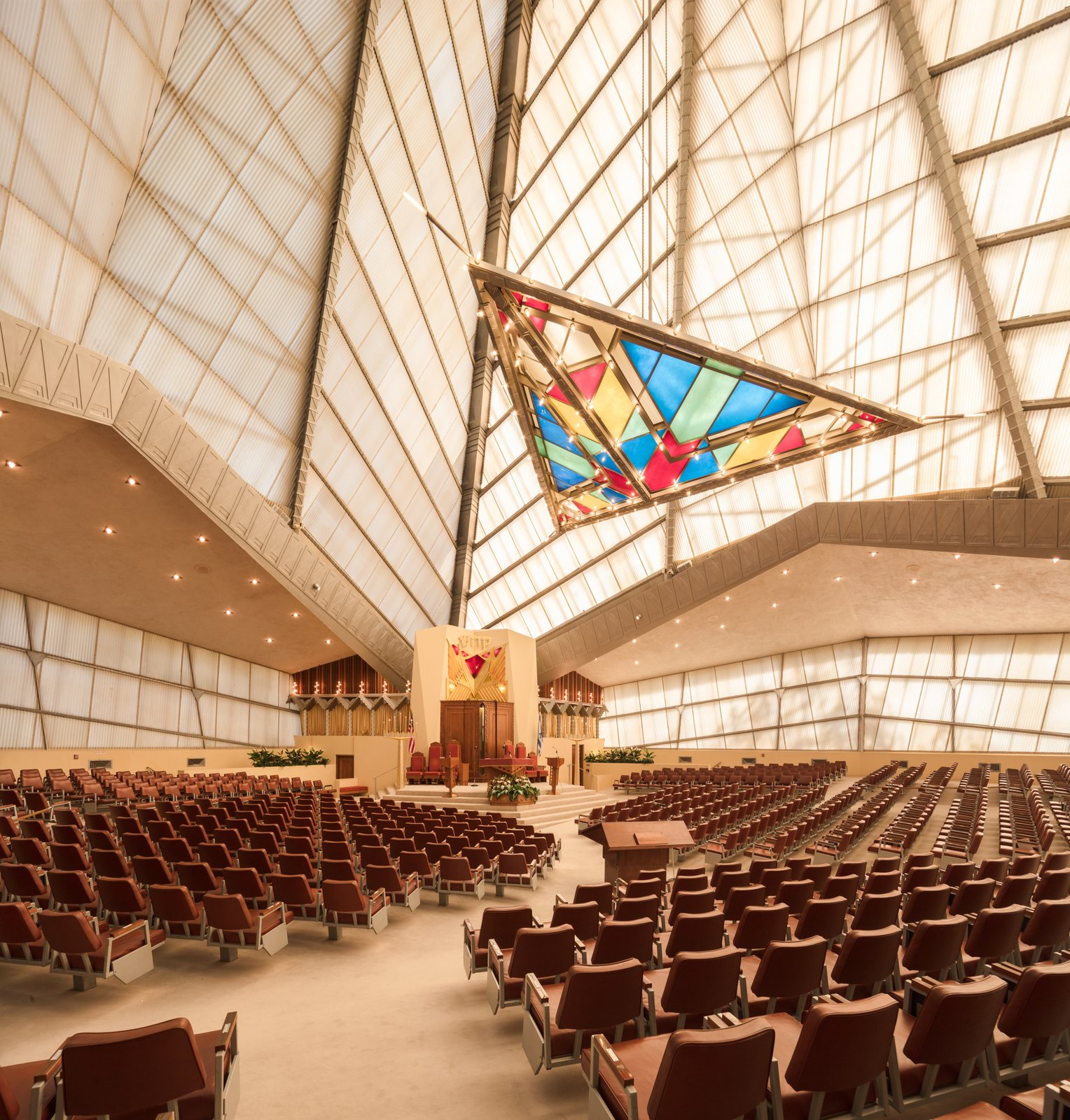 Beth Sholom Synagogue by Frank Lloyd Wright