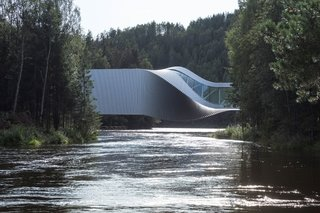 Norway's Newest Museum Opens Today—and it Spirals Over a Rushing River