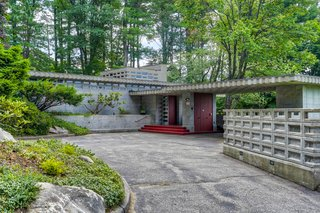 This Rare Frank Lloyd Wright House in New Hampshire Is Available For the First Time Ever