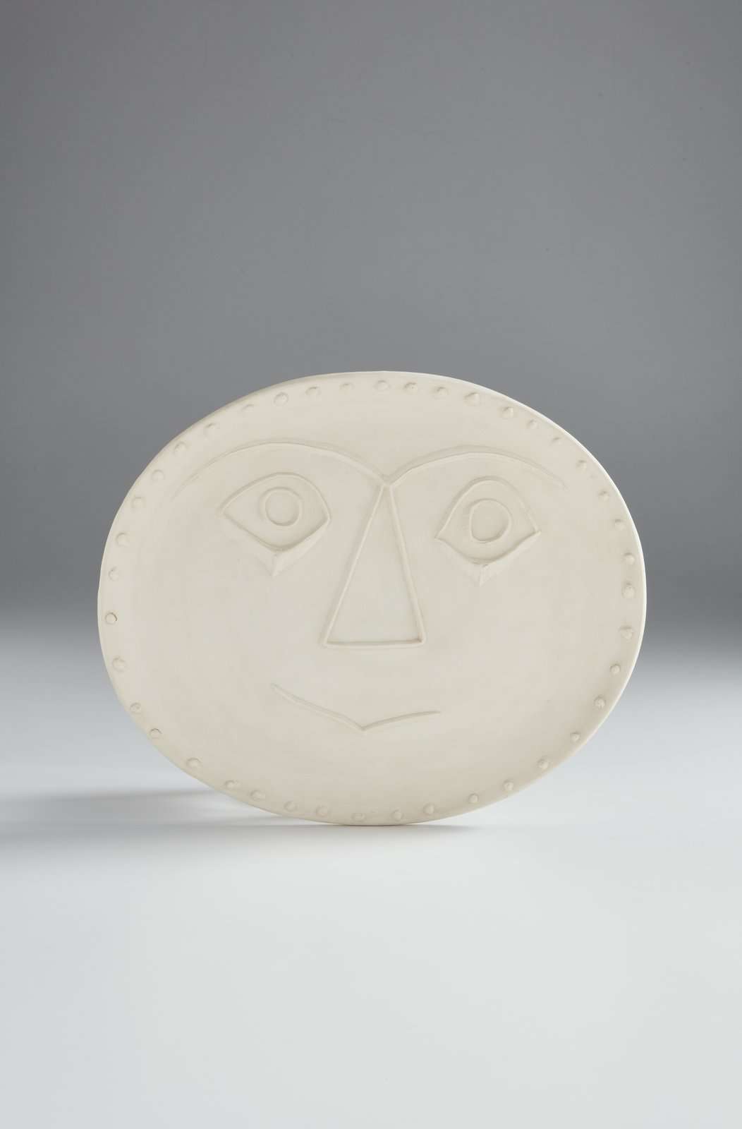 Geometric face by Pablo Picasso