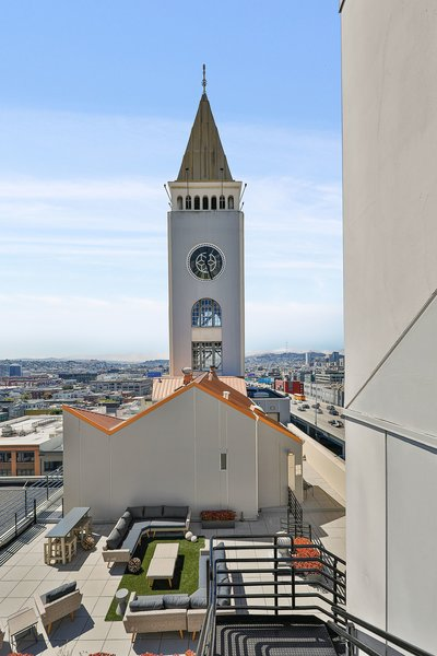 Clocktower penthouse San Francisco real estate outdoor