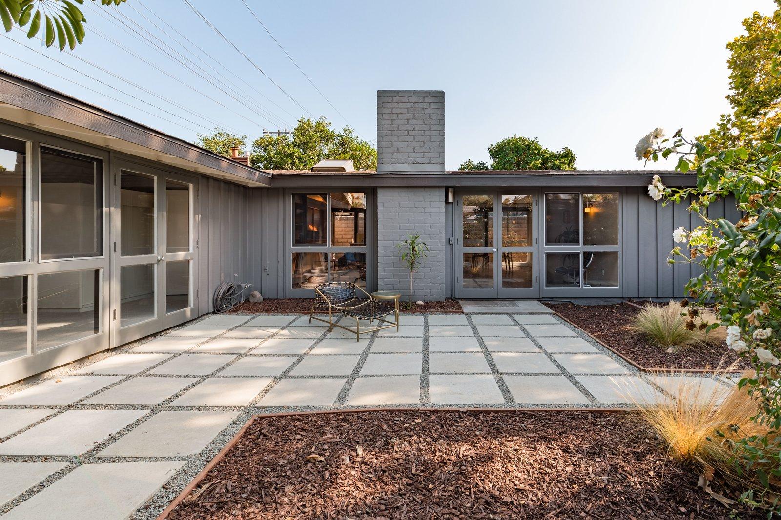 Cliff May Rancho Estates Restoration outdoor