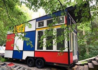 Snag This Marvelous Mondrian-Inspired Tiny House for $40K