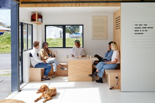 This New Zealand Design Duo's Headquarters Are as Fresh and Lighthearted as They Are