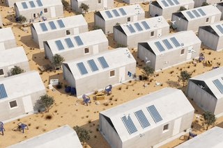 The Cortex shelters can last for at least 30 years, providing an eco-friendly and resilient new means of housing.