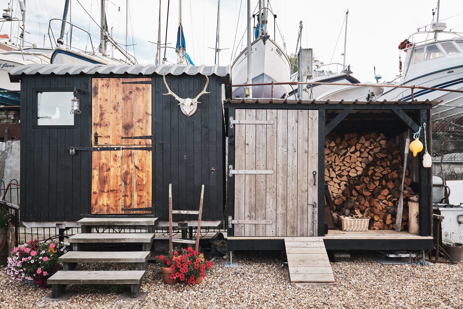 Gosport houseboat storage