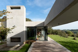 This Concrete Home Buried in a Hillside in England Asks £2.9M