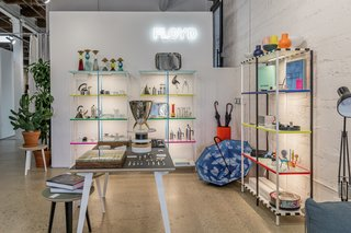"""During Detroit Month of Design, Floyd hosted a postmodern pop-up shop called Ecce Pomo (""""Behold Postmodern""""), put on by Joe Posch, who also runs design store Hugh."""