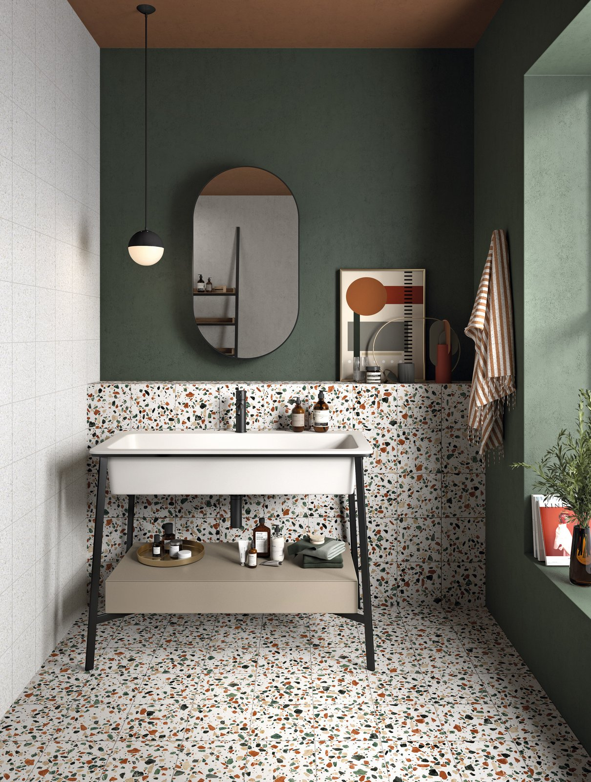 ABK's Play Dots pattern  Photo 7 of 17 in Trend Report: Tile Style