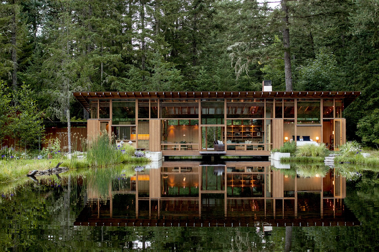 Exterior and House Building Type Newberg Residence  Best Photos from 16 Architects on Regional Style and What American Design Means to Them
