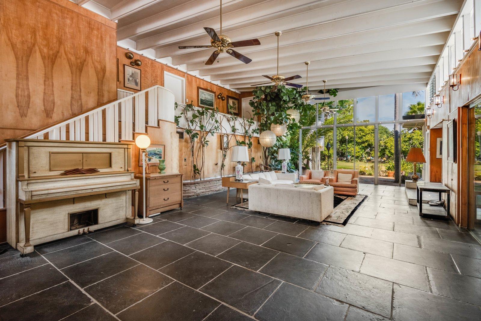 Brittain-Wachs Residence garden room