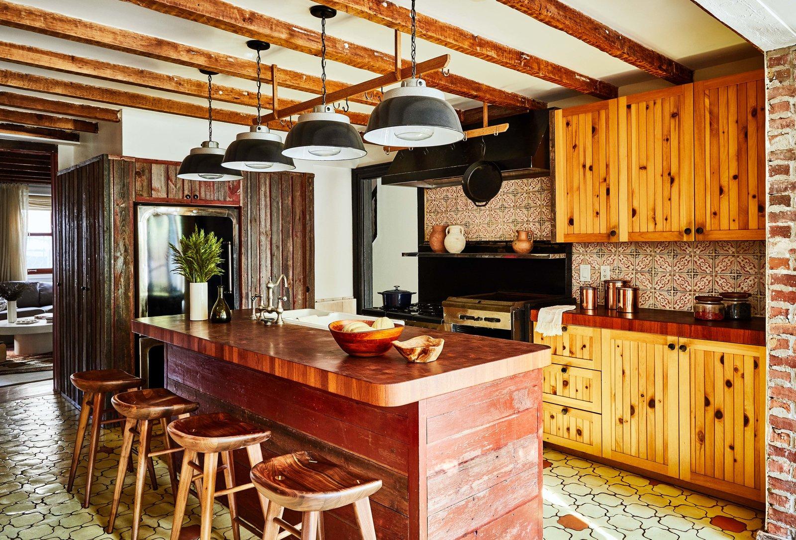 Norah Jones Cobble Hill townhouse real estate kitchen