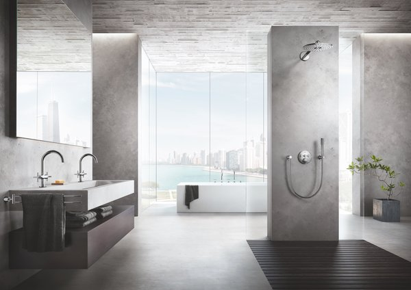 Creating a spa-like atmosphere in the bathroom begins with key design features,  including natural lighting, soothing color tones, and organic materials.